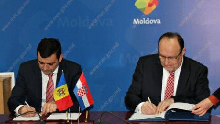 Republica Moldova va continua să coopereze cu Croaţia pentru dezvoltarea investiţiilor reciproce