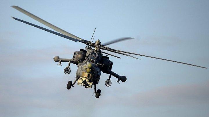 Doi piloți ruși au murit în oraşul sirian Hama, după ce elicopterul care îl conduceau s-a prăbuşit