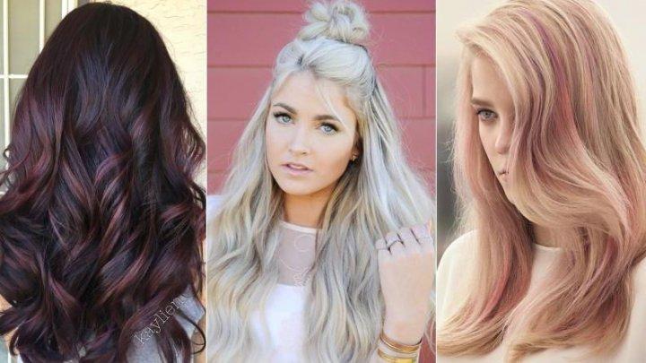Violet, blond sau roz? Culorile de păr care sunt la modă în 2018 (VIDEO)