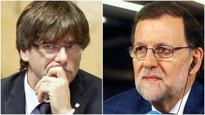 Premierul spaniol: Autonomia Cataloniei rămâne suspendată, dacă Puigdemont va guverna de la Bruxelles