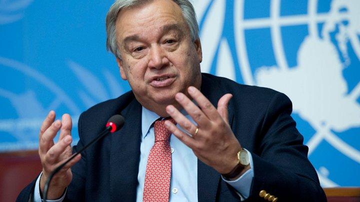 Secretarul general al ONU regretă pierderea de vieţi omeneşti şi face apel la evitarea altor violenţe în Iran