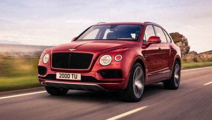 Bentley Bentayga primește un motor V8 pe benzină, care produce 550 de cai putere și 770 Nm
