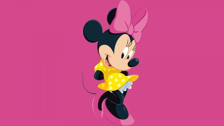 Minnie Mouse, celebrul personaj al companiei Disney, a primit o stea pe Walk of Fame