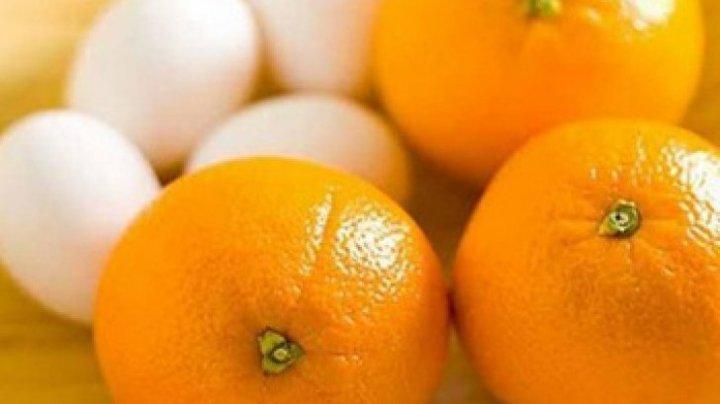 Bine de știut! Cum să pierzi 14 kilograme în 15 zile, cu dieta cu portocale şi ouă