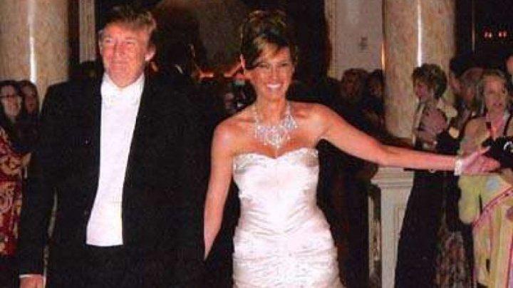 Cât l-a costat pe Donald Trump cea de-a treia nuntă şi cât a scos din buzunar pentru rochia Melaniei (FOTO)