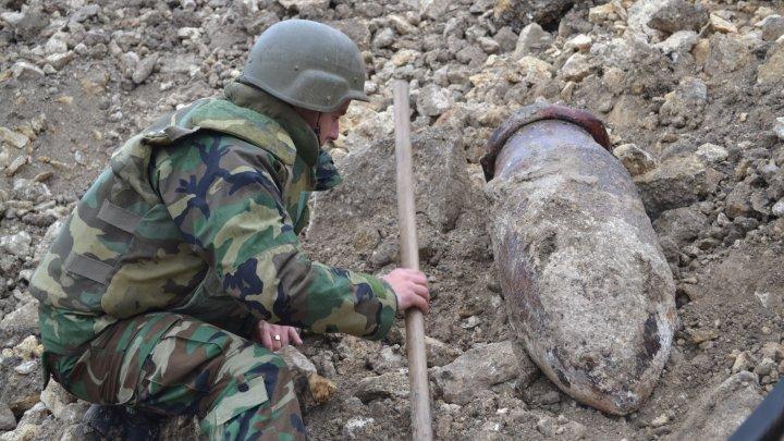Circa 900 obiecte explozive din cel de-al Doilea Război Mondial au fost neutralizate în 2017