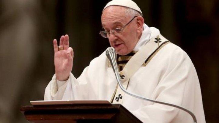 Papa Francisc: Este necesar un dialog între israelieni şi palestinieni pentru a ajunge la o soluţie negociată vizând coexistenţa paşnică a două state