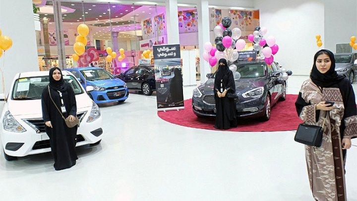 În Arabia Saudită s-a deschis primul salon auto dedicat exclusiv femeilor