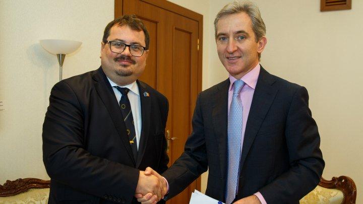 Viceprim-ministrul pentru Integrare Europeană, Iurie Leancă, s-a întâlnit cu şeful Delegației Uniunii Europene