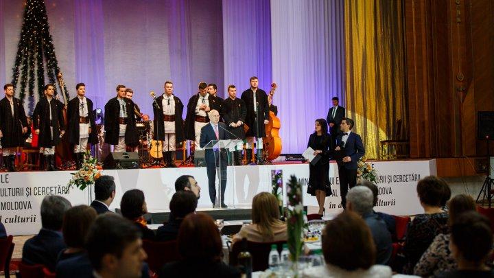 Pavel Filip la Gala premiilor anuale în domeniul culturii: Cultura este o prioritate națională