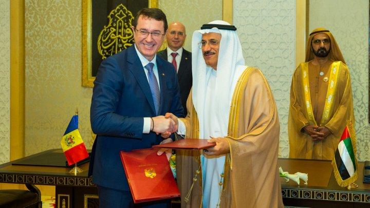 Republica Moldova și Emiratele Arabe Unite au semnat două tratate bilaterale