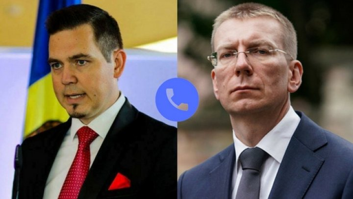 Ministrul Tudor Ulianovschi a avut o convorbire telefonică cu omologul său leton Edgars Rinkēvičs
