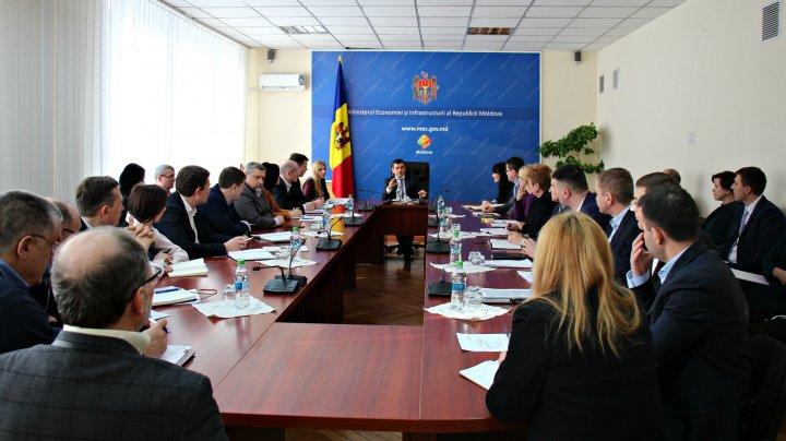 Chiril Gaburici a prezentat prioritățile Ministerului Economiei și Infrastructurii
