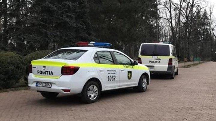 ALERTĂ ÎN CAPITALĂ! Două obuze, găsite în Parcul Central. Geniştii şi poliţia la fața locului (FOTO)