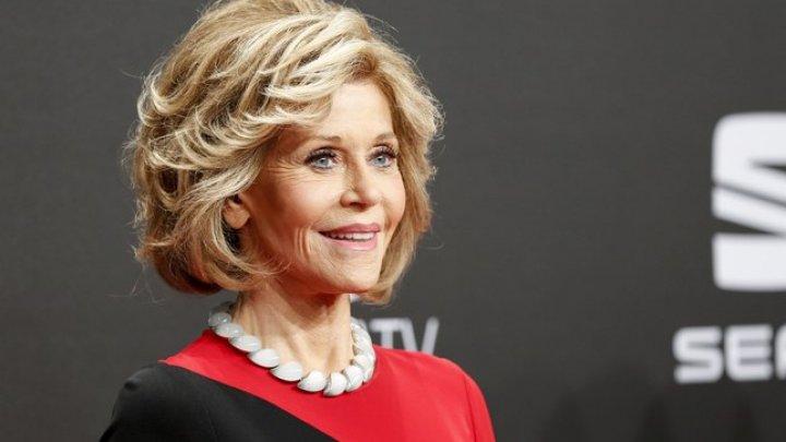 Actriței americane Jane Fonda i-a fost extirpată o tumoare canceroasă