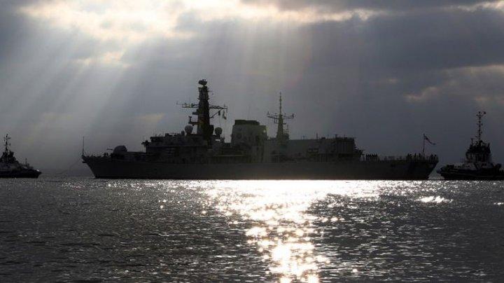 Nave militare rusești au fost interceptate în Canalul Mânecii