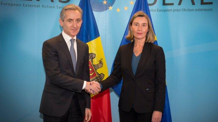 Federica Mogherini: În UE există dorinţa de a continua susținerea Republicii Moldova