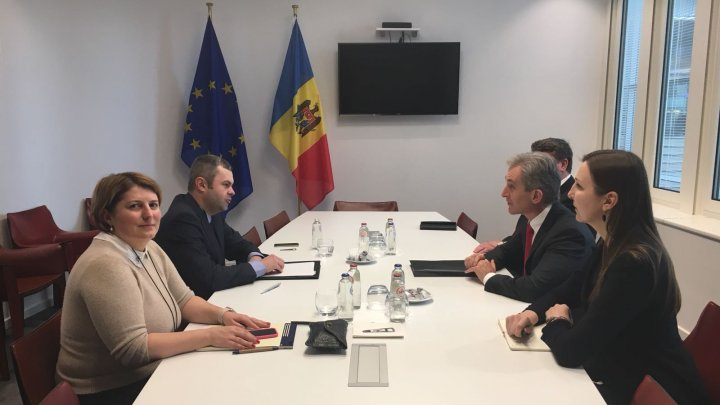 Iurie Leancă a avut un șir de întâlniri la Parlamentul European