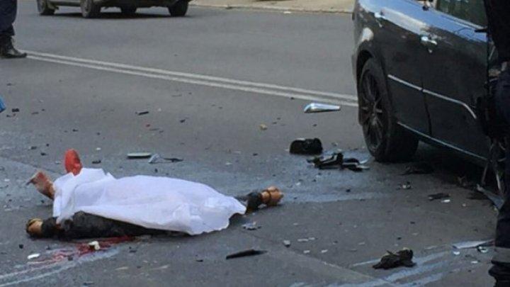 ACCIDENT FATAL pe traseul Ungheni - Sculeni. Un bărbat, lovit de o maşină la ieşirea din Zagarancea