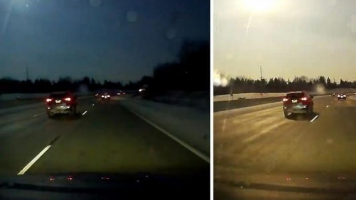 S-a cutremurat pământul! Un meteorit a căzut în apropiere de Detroit (VIDEO)
