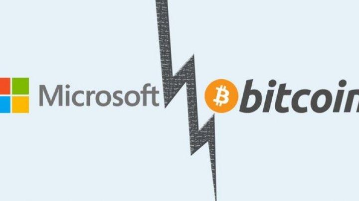 Microsoft opreşte plăţile prin intermediul Bitcoin. Care este motivul