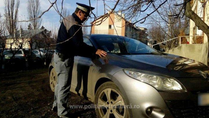 A căzut în plasa poliţiştilor de frontieră români. Un moldovean a rămas fără maşină la Albiţa (FOTO)