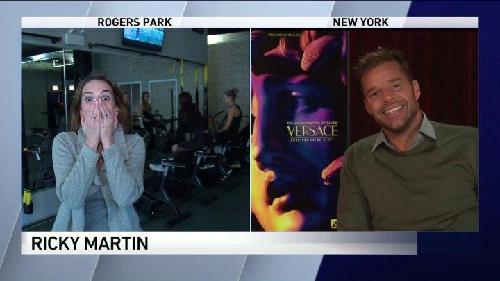 REACŢIA INCREDIBILĂ a unei jurnaliste, după un interviu cu Ricky Martin (VIDEO)