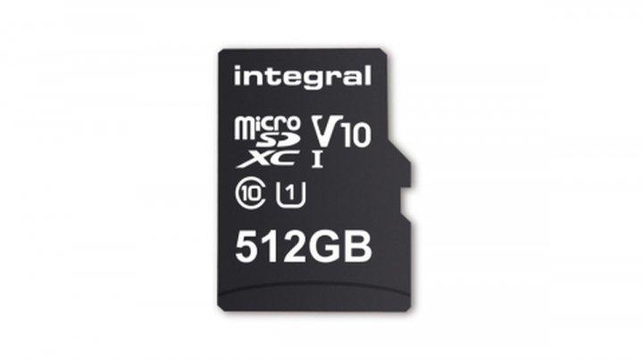 Integral a produs primul card microSD cu capacitate de 512 GB