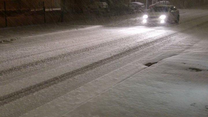 VREME REA în Spania: În centrul țării e COD ROȘU de ninsori, iar în zonele de coastă - de furtună