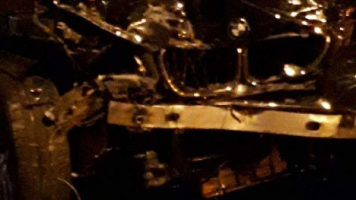 NOAPTE ALBĂ în Capitală. Mai multe mașini s-au ciocnit puternic în sectorul Botanica: Era plin de sânge, răsufla greu (FOTO)
