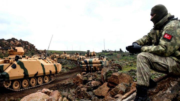 Turcia nu renunţă la misiunea militară din Afrin, deşi riscă să se ciocnească cu forţele americane şi cele siriene