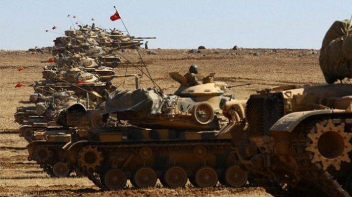 Operațiunea militară a Turciei în regiunea Afrin din nordul Siriei a început