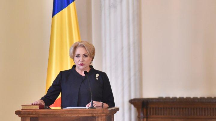 Pavel Filip a felicitat-o pe Viorica Dăncilă, noul premier al României cu ocazia învestirii în funcție