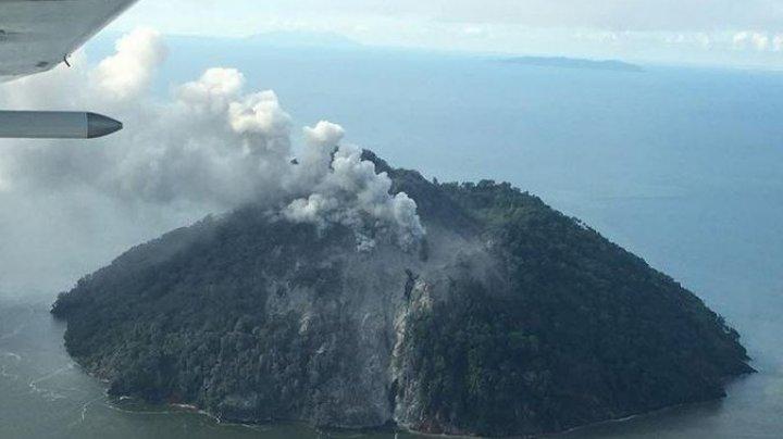 Un vulcan din Papa Noua Guinee a erupt pentru prima dată în istorie. Autoritățile au emis alertă de tsunami