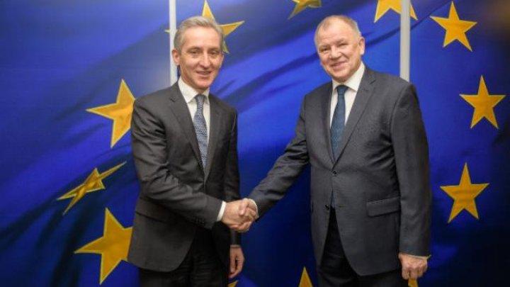 Vicepremierul Iurie Leancă a avut o întrevedere cu Comisarul European Vytenis Andriukaitis