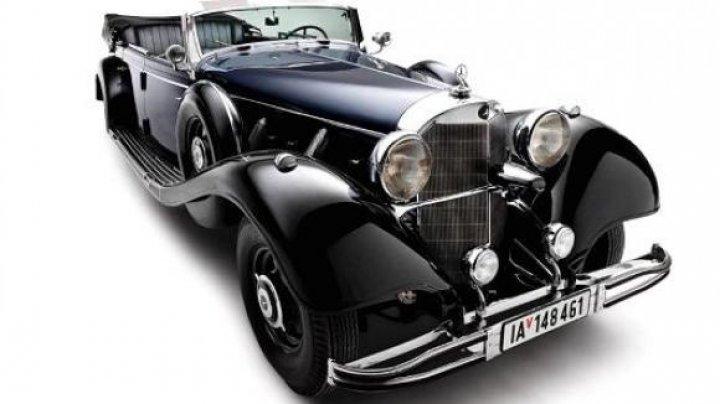 Mașina de paradă folosită de Adolf Hitler, va fi scoasă mâine la licitație