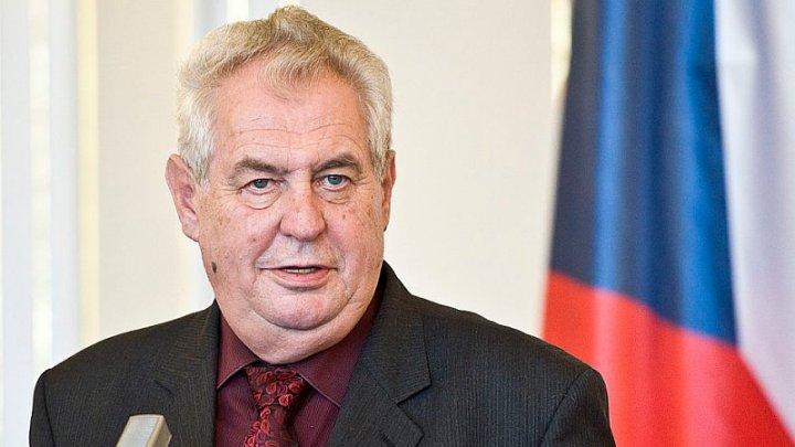Milos Zeman a câștigat primul tur al alegerilor prezidenţiale din Cehia