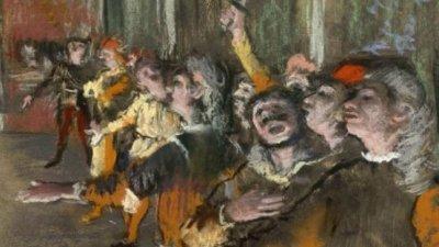 Descoperire neaşteptată în Franța. O pictură de Edgar Degas, furată acum nouă ani, a fost găsită de vameși în portbagajul unui autocar