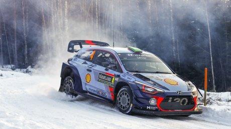 Thierry Neuville a câştigat Raliul Suediei ce se desfăşoară integral pe zăpadă