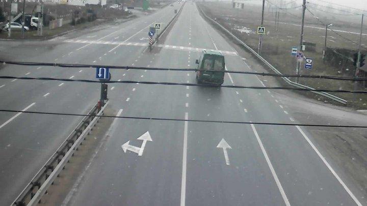 COD GALBEN DE NINSORI. Cum se circulă la această oră pe drumurile din țară (FOTO)