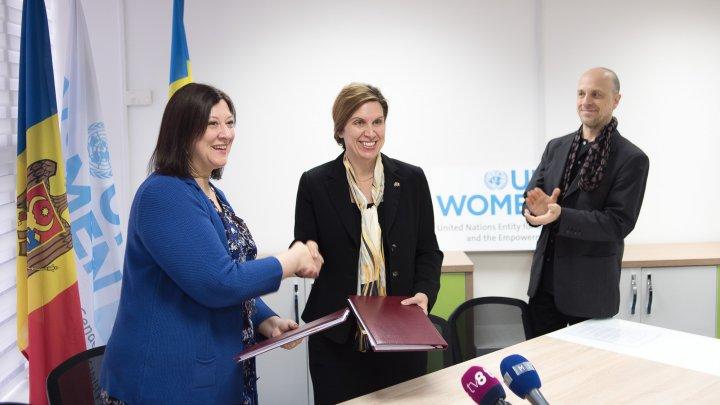 Suedia continuă să susţină egalitatea de gen în Moldova, în colaborare cu UN Women