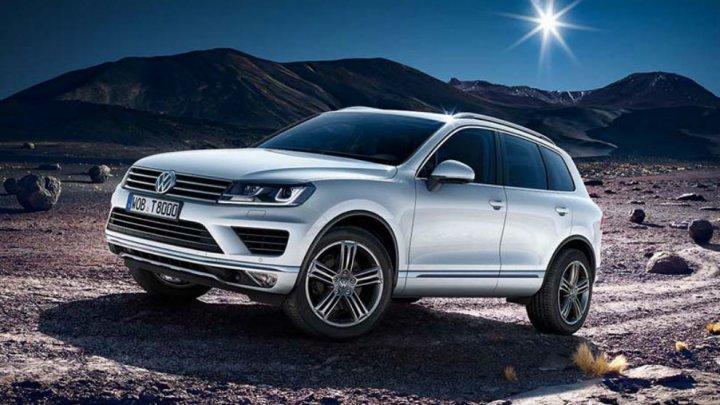 Oficialii de la Volkswagen au publicat prima schiţă a noii generaţii Touareg (FOTO)