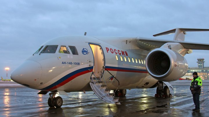 Compania Saratov Airlines a oprit la sol temporar toate aeronavele Antonov An-148, după accidentul aviatic din Rusia