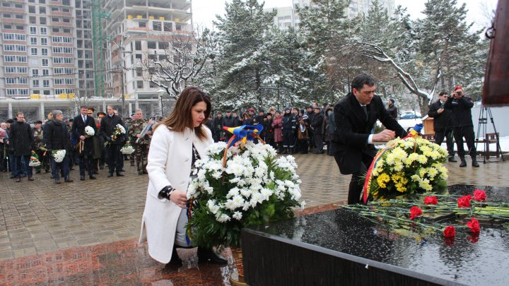 Viceprim-ministrul Cristina Lesnic a participat la evenimentul dedicat comemorării victimelor războiului din Afganistan