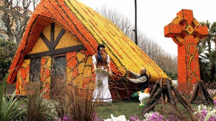 Festivalul lămâilor de la Menton, un elogiu adus de locuitorii oraşului