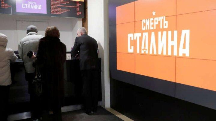 Un cinematograf din Rusia, amendat pentru difuzarea filmului interzis THE DEATH OF STALIN