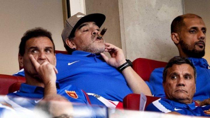 Maradona nu a primit viză pentru SUA. Care este motivul