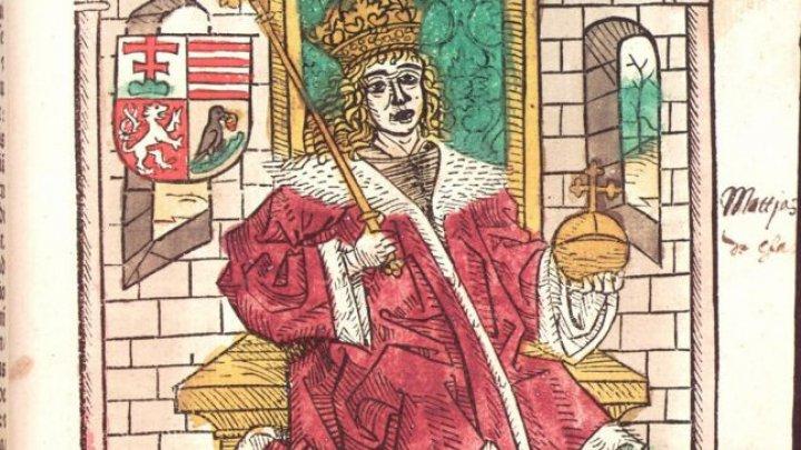 Regele ungar, omagiat pentru prima dată în Hunedoara