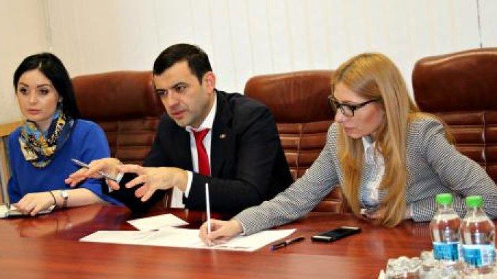 Chiril Gaburici a avut o întrevedere cu Șeful Misiunii OSCE în Republica Moldova, Ambasadorul Michael Scanlan