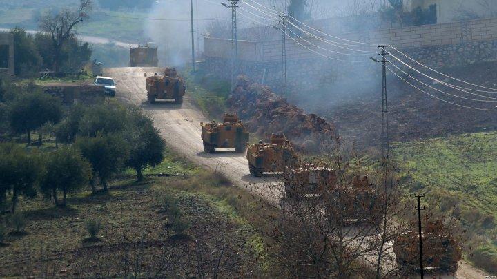 Kurzi din nord-vestul Siriei au anunţat un acord cu regimul sirian pentru trimiterea militarilor în Afrin